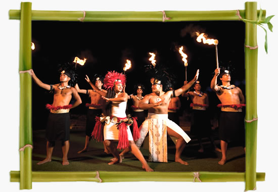 Alii Luau at The Polynesian Cultural Center and the best Hawaii dinner shows tickets in Waikiki and Oahu.